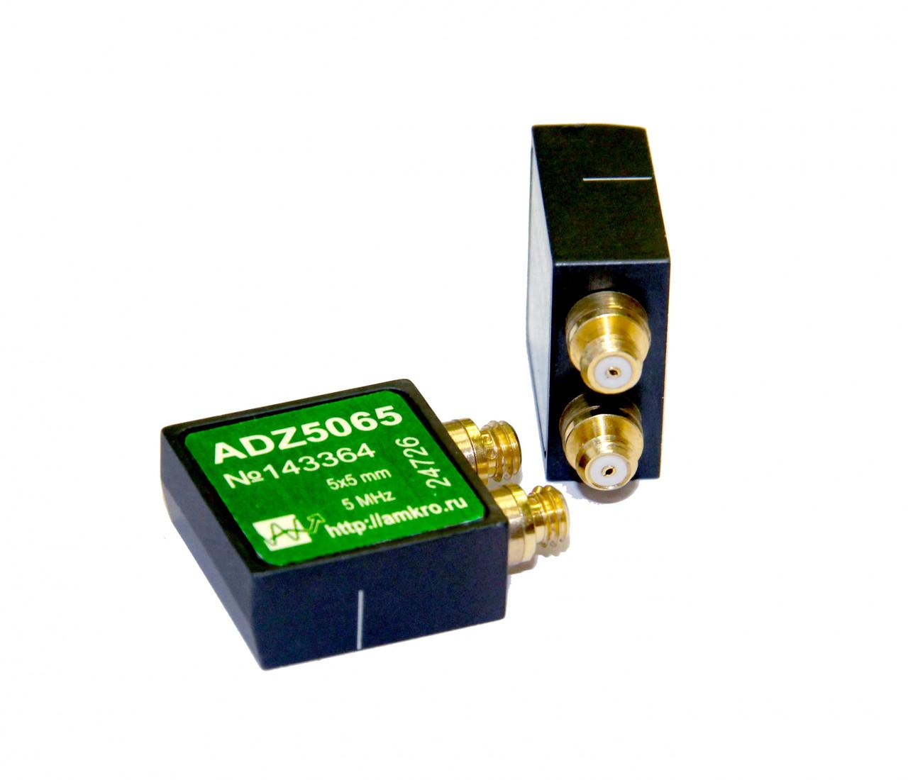 Наклонные миниатюрные р/с преобразователи ADZ50xx 5МГц