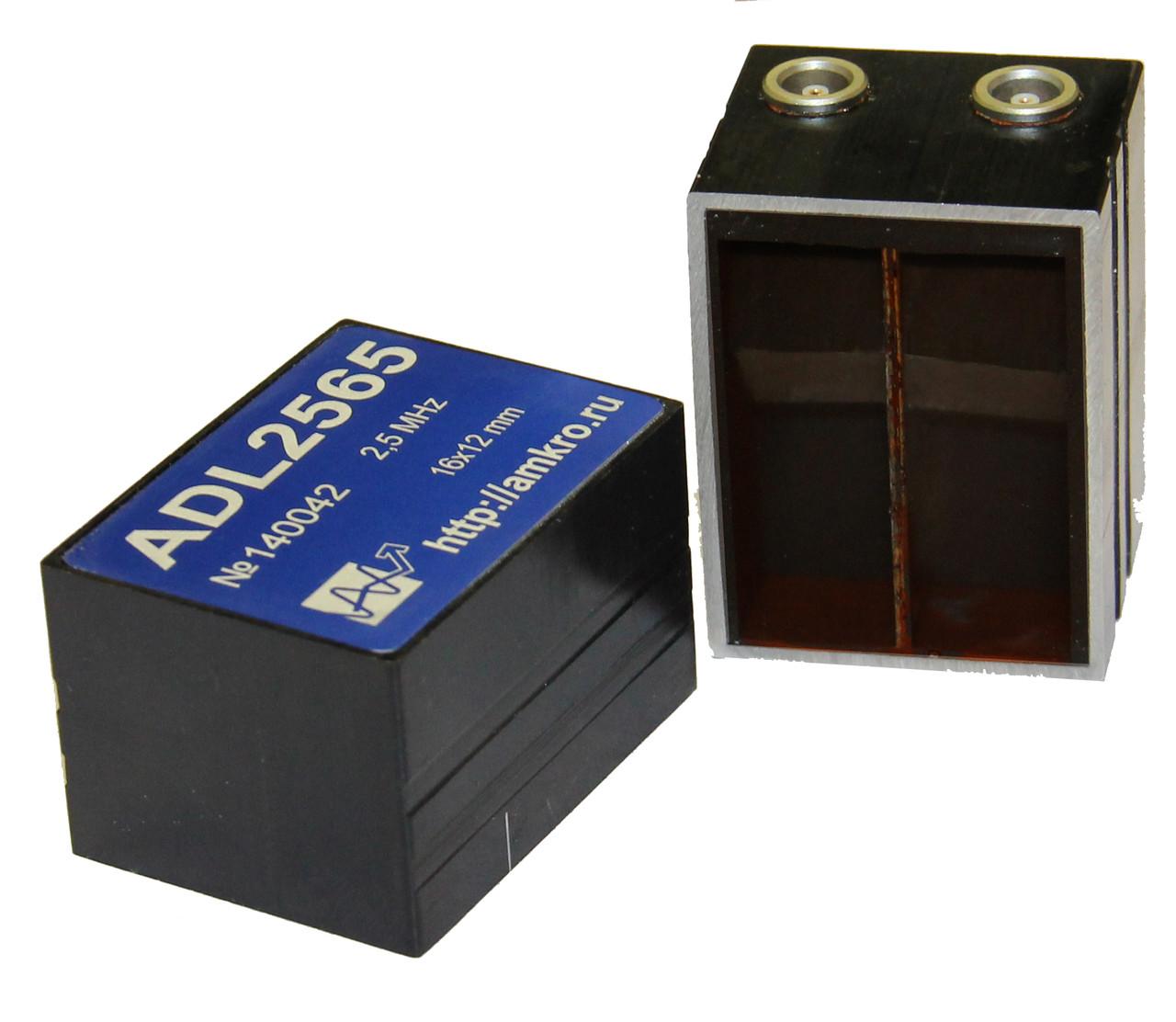Наклонные р/с преобразователи продольных волн ADL25xx 2,5 МГц