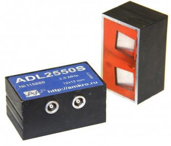 Наклонные р/с преобразователи продольных волн ADL25xxS 2,5 МГц