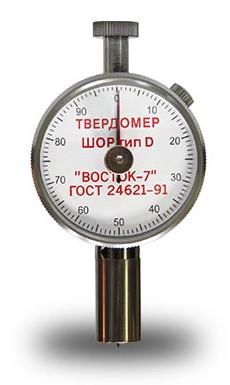 Твердомер портативный по шкале Шора тип D ТВР-D