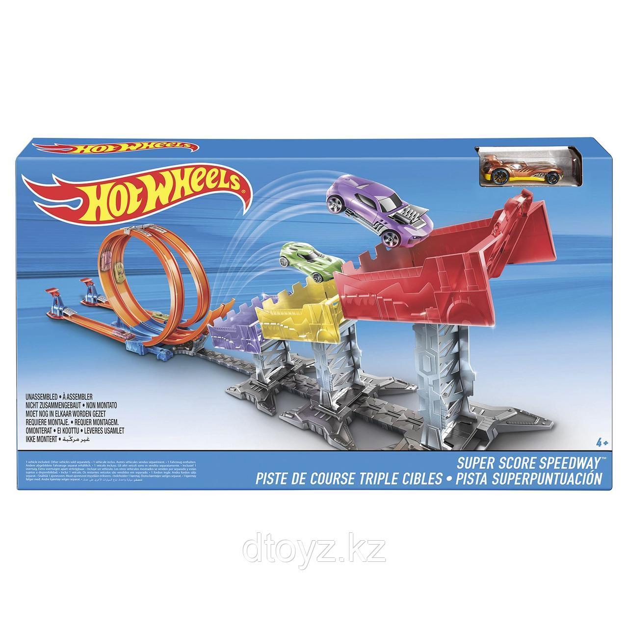 Hot Wheels DJC05 Игровой набор Суперскоростная трасса