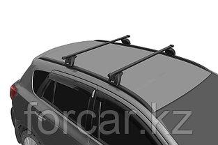 """Багажная система """"LUX"""" с дугами 1,2м прямоугольными в пластике для а/м Hyundai Tucson (IX35) 2010-2015 г.в., фото 3"""