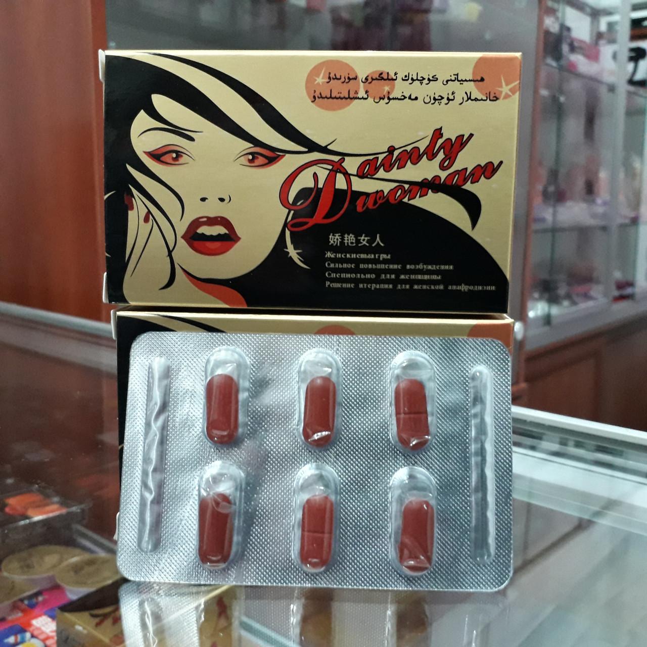 Dainly Woman - Женские капсулы для возбуждения - 6 шт