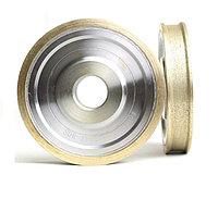 Круг алмазный шлифовальный для обработки кромки стекла 60*22*6мм. форма 1DD6V (еврокромка)