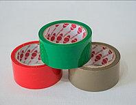 Скотч упаковочный цветной, красный, зелёный, коричневый.