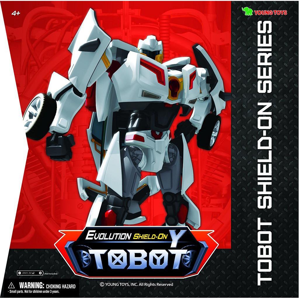 """Tobot Робот-трансформер Тобот Y """"Shield-On Эволюция"""" (свет, звук)"""