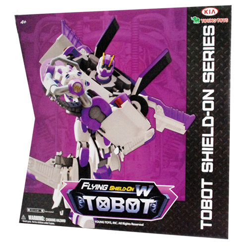 """Tobot Робот-трансформер Тобот W """"Shield-On Эволюция"""" (свет, звук)"""