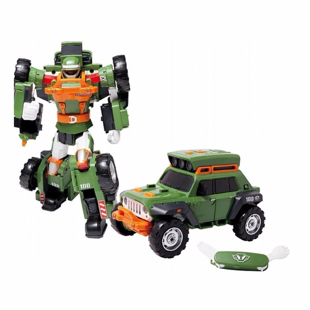 Tobot Робот-трансформер Тобот K (свет, звук)