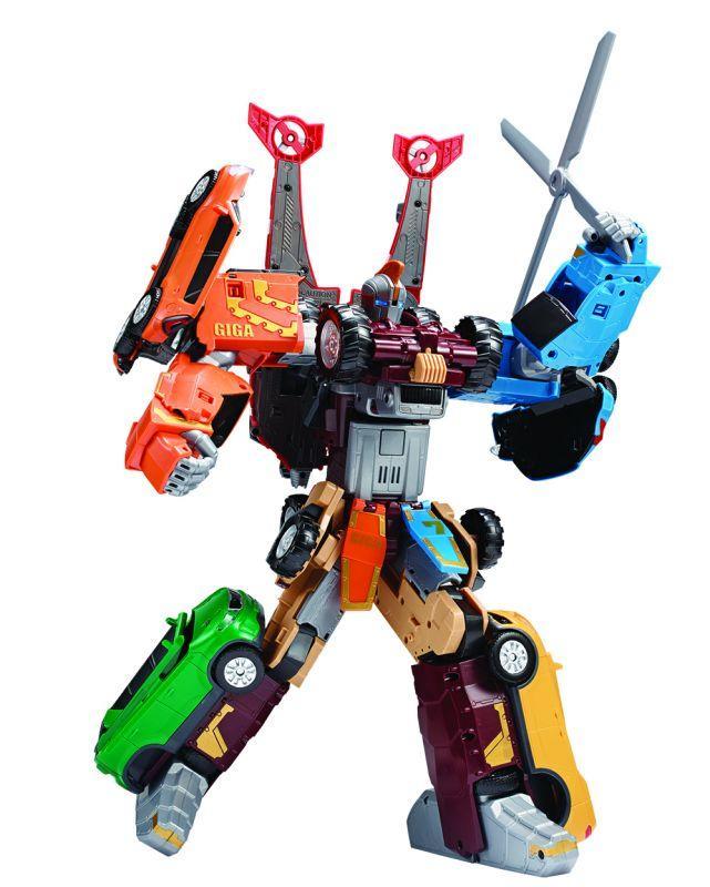 Tobot Робот-трансформер Тобот ГИГА 7 (свет и звук)