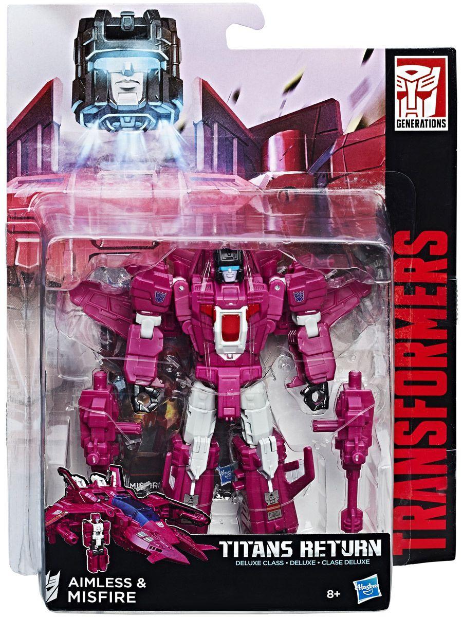 """Hasbro Трансформеры """"Возвращение Титанов"""" - Аимлесс и Миссфаир"""