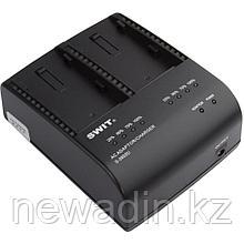 SWIT S-3602D. Двухканальное зарядное устройство для аккумуляторов камер Panasonic