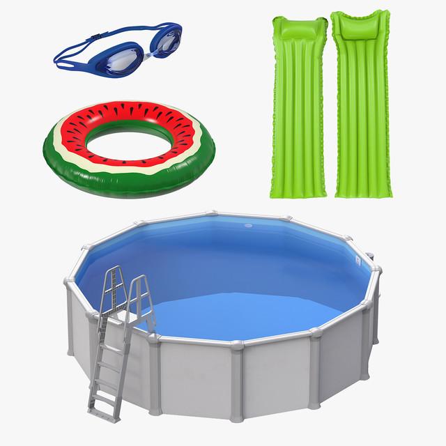 Бассейны и товары для отдыха на пляже