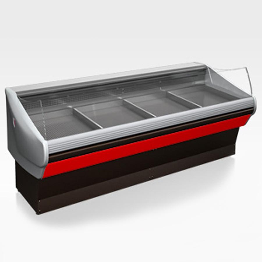 Холодильная витрина Aurora Slim 250 рыба на льду Self
