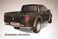 Защита заднего бампера d57 Mitsubishi L200 Triton