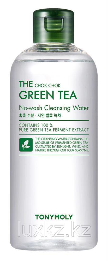 Очищающая вода с экстрактом зеленого чая от Tony Moly