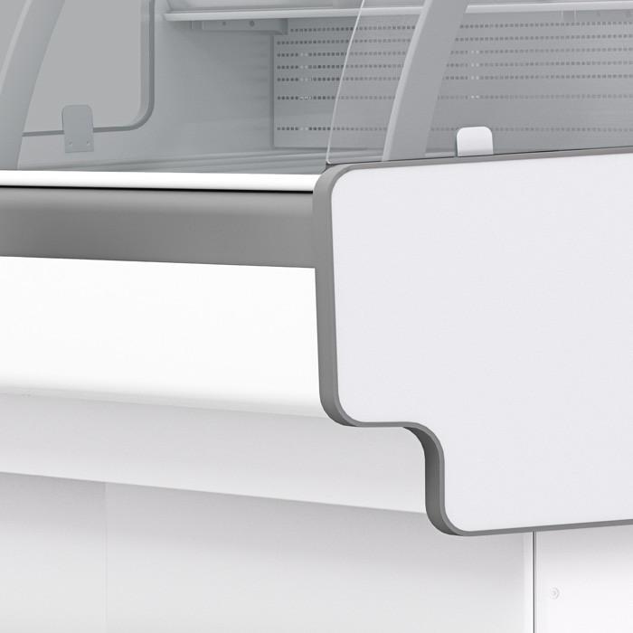 Холодильная витрина Aurora Slim 125 низкотемпературная