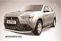 Защита переднего бампера d76 Mitsubishi ASX 2010-14