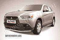 Защита переднего бампера d57 Mitsubishi ASX 2010-14