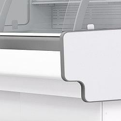 Холодильная витрина Aurora Slim SQ Закрытый угол 90 вентилируемая