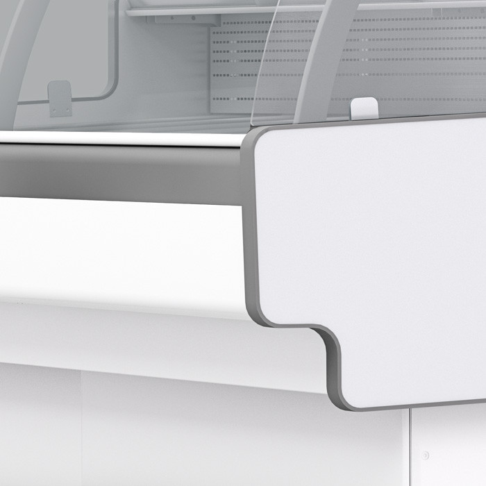 Холодильная витрина Aurora Slim SQ 375 Открытый угол 90 вентилируемая
