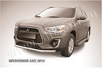 Защита переднего бампера d76 Mitsubishi ASX 2014-