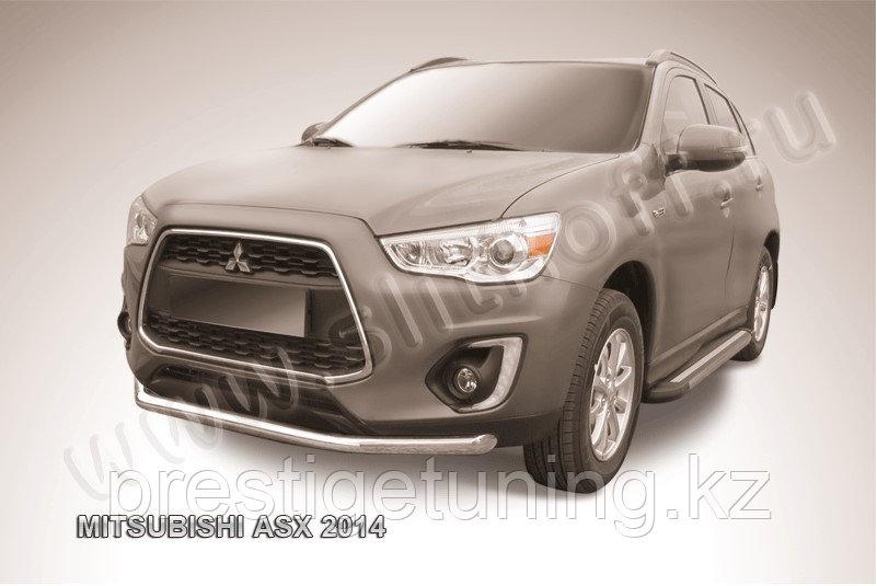 Защита переднего бампера d57 Mitsubishi ASX 2014-