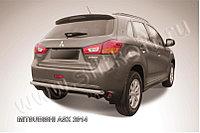 Защита заднего бампера d57 Mitsubishi ASX 2014-