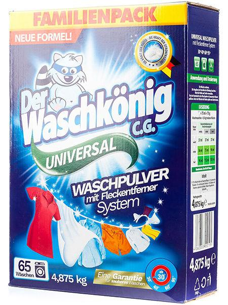 Der Waschkönig C.G. Universal стиральный порошок 4,875кг