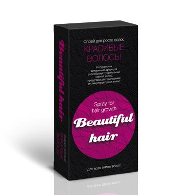 Beautiful Hair (Бьютифул Хаир) - спрей для роста волос