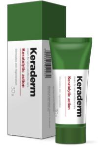 Keraderm (Керадерм) — крем от папиллом и бородавок