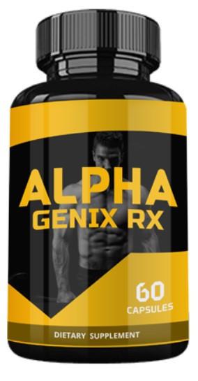 Alpha Genix RX (Альфа Дженикс ЭрИкс) — капсулы для повышения потенции