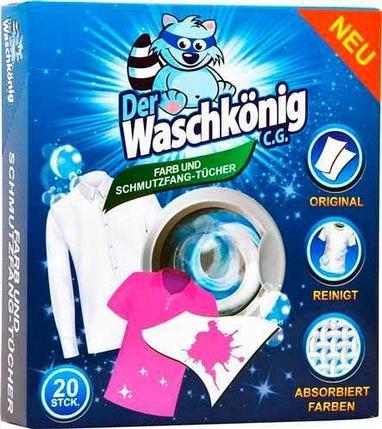 Der Waschkönig салфетки ловушки для цвета, фото 2