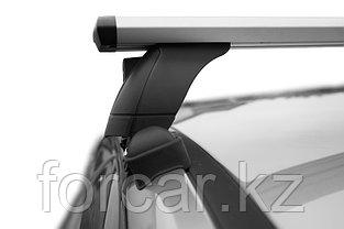 "Багажная система 3 ""LUX"" с дугами 1,1м аэро-трэвэл (82мм) для а/м Hyundai Accent Solaris II 2017+, фото 3"