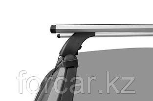 "Багажная система ""LUX"" с дугами 1,3м аэро-трэвэл (82мм) для а/м Hyundai Starex H-1 2007+, фото 3"