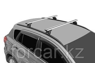 "Багажная система ""LUX"" с дугами 1,2м аэро-трэвэл (82мм) для Hyundai Tucson 2016+ с интегр. рейлингами, фото 3"