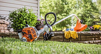 Как правильно использовать триммер для травы