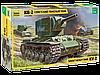 Советский тяжелый танк КВ-2 Сборная модель 1\35