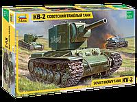 Советский тяжелый танк КВ-2 Сборная модель 1\35, фото 1
