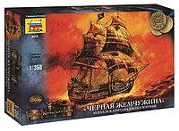 Корабль капитана Джека Воробья «Черная Жемчужина», сб модель