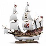 """Флагманский корабль Френсиса Дрейка """"Ревендж"""", Подарочный набор, сб. модель, 1:350, фото 2"""