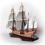 """Флагманский корабль Френсиса Дрейка """"Ревендж"""", Подарочный набор, сб. модель, 1:350, фото 4"""