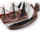 """Флагманский корабль Френсиса Дрейка """"Ревендж"""", Подарочный набор, сб. модель, 1:350, фото 6"""