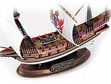 """Флагманский корабль Френсиса Дрейка """"Ревендж"""", Подарочный набор, сб. модель, 1:350, фото 7"""