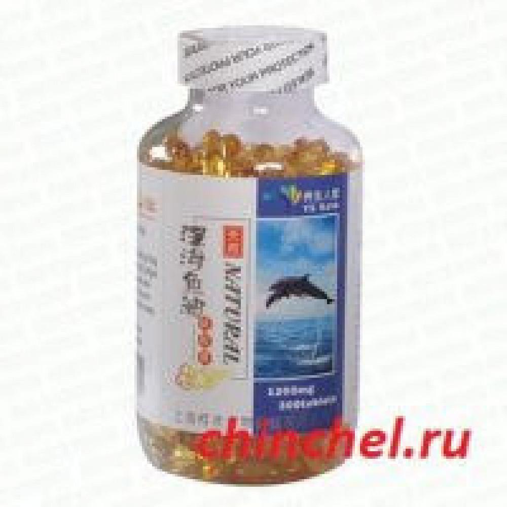 Капсулы с Омега-3 Жир глубоководных рыб (Deep sea fish oil)