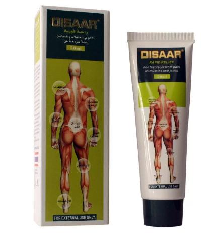 Массажный крем «disaar – rapid relief» (мышечная боль)