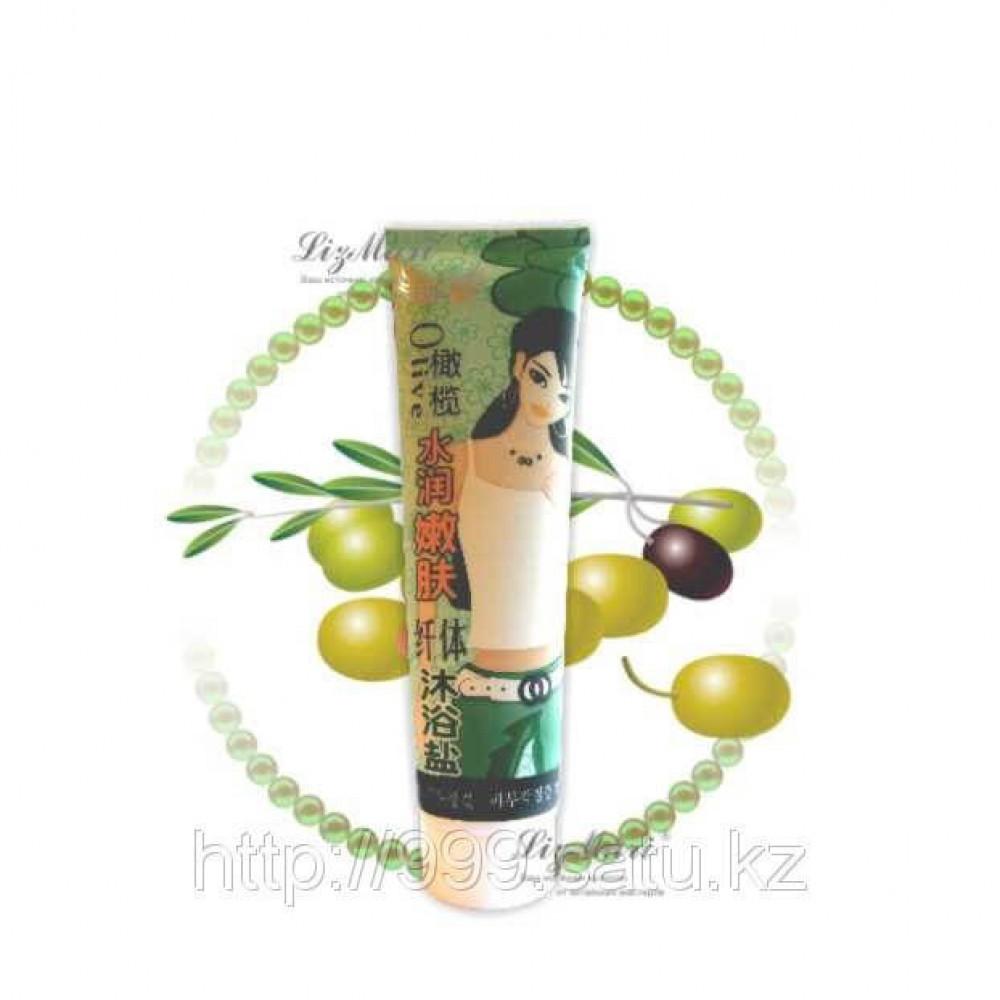 Соль-крем для тела Олива, 400 гр.