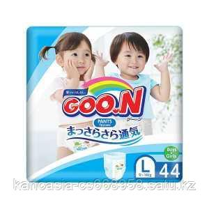 Goon Подгузники-трусики Goon, размер L, 9-14 кг Unisex, 44 шт/упак