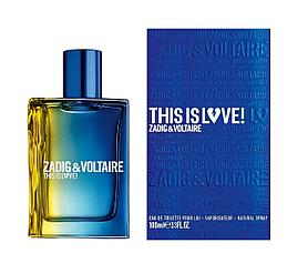 Zadig&Voltaire This Is Love!For HimFor100ml