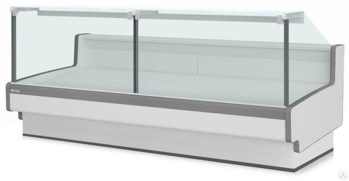 Холодильная витрина Aurora Slim SQ 125 рыба на льду