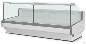 Холодильная витрина Aurora Slim SQ 250 рыба на льду